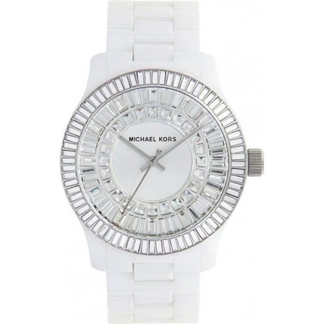 Michael Kors Watches Ladies White Ceramic Watch MK5361