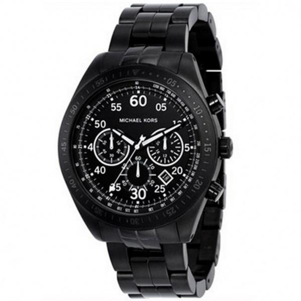 michael kors chronograph black mk8139 cheapest