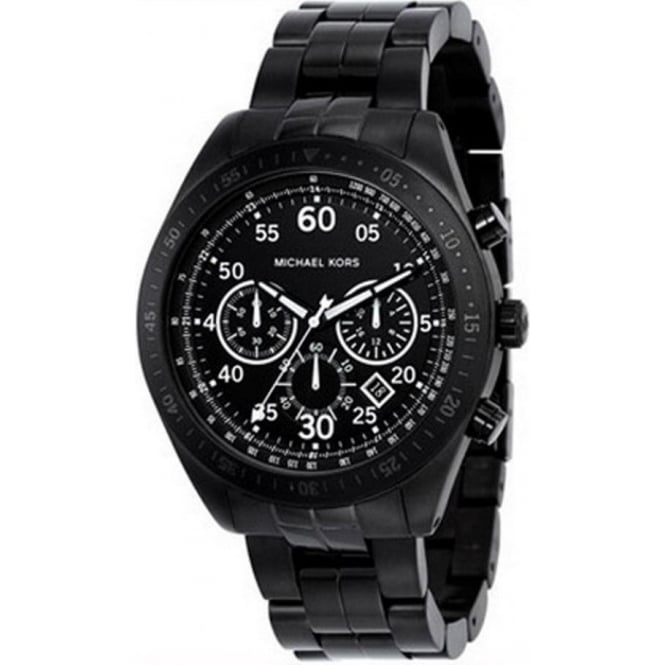 Michael Kors Watches Chronograph Black Watch MK8139