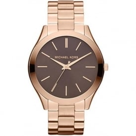 Michael Kors Watches MK3181 Ladies Rose Gold-Tone Chronograph Watch