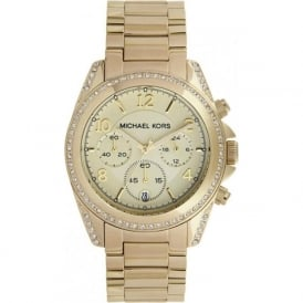 Michael Kors MK5166 Ladies Gold Watch
