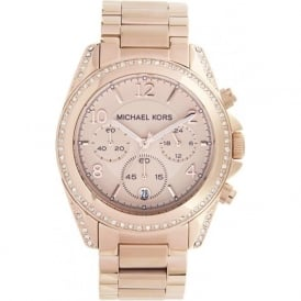 Michael Kors Mk5263 Ladies Rose Gold Watch