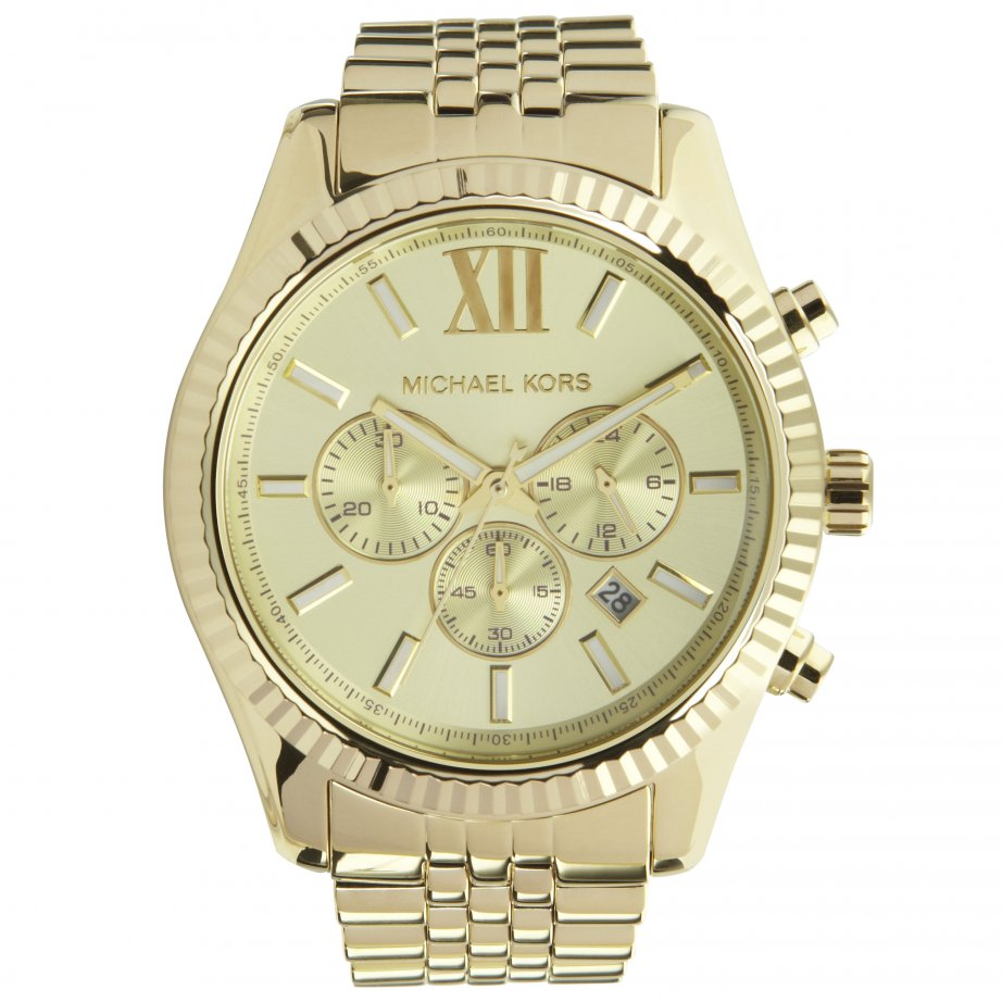 michael kors chronograph gold tone mk8281 cheapest