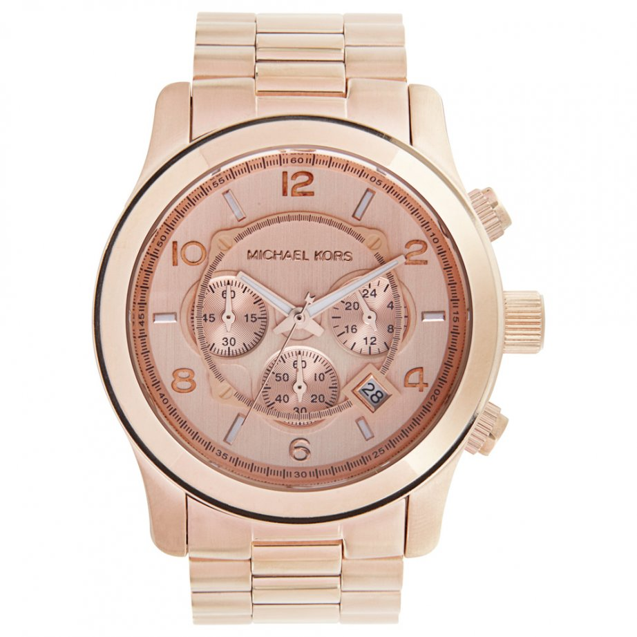 michael kors chronograph rose gold watch mk8096 cheapest. Black Bedroom Furniture Sets. Home Design Ideas