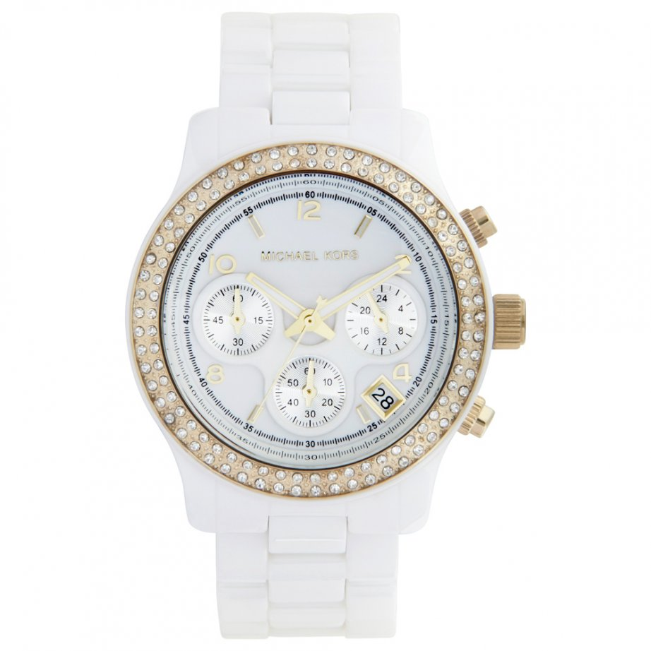 Michael Kors Ceramic Watch Women Michael Kors White Ceramic