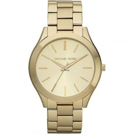 Michael Kors Watches MK3179 Runway Gold Stainless Steel Ladies Watch