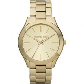 Michael Kors Watches MK3179 Runway Gold Stainless Steel Ladies Watch