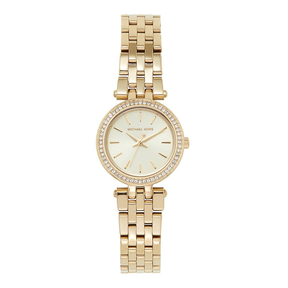 9909605d5daf Michael Kors Watches Michael Kors Watches MK3295 Mini Darci Gold Tone  Stainless Steel Ladies Watch