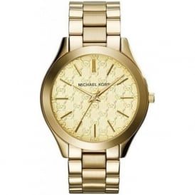 Michael Kors Watches MK3335 Slim Runway Gold Ladies Watch