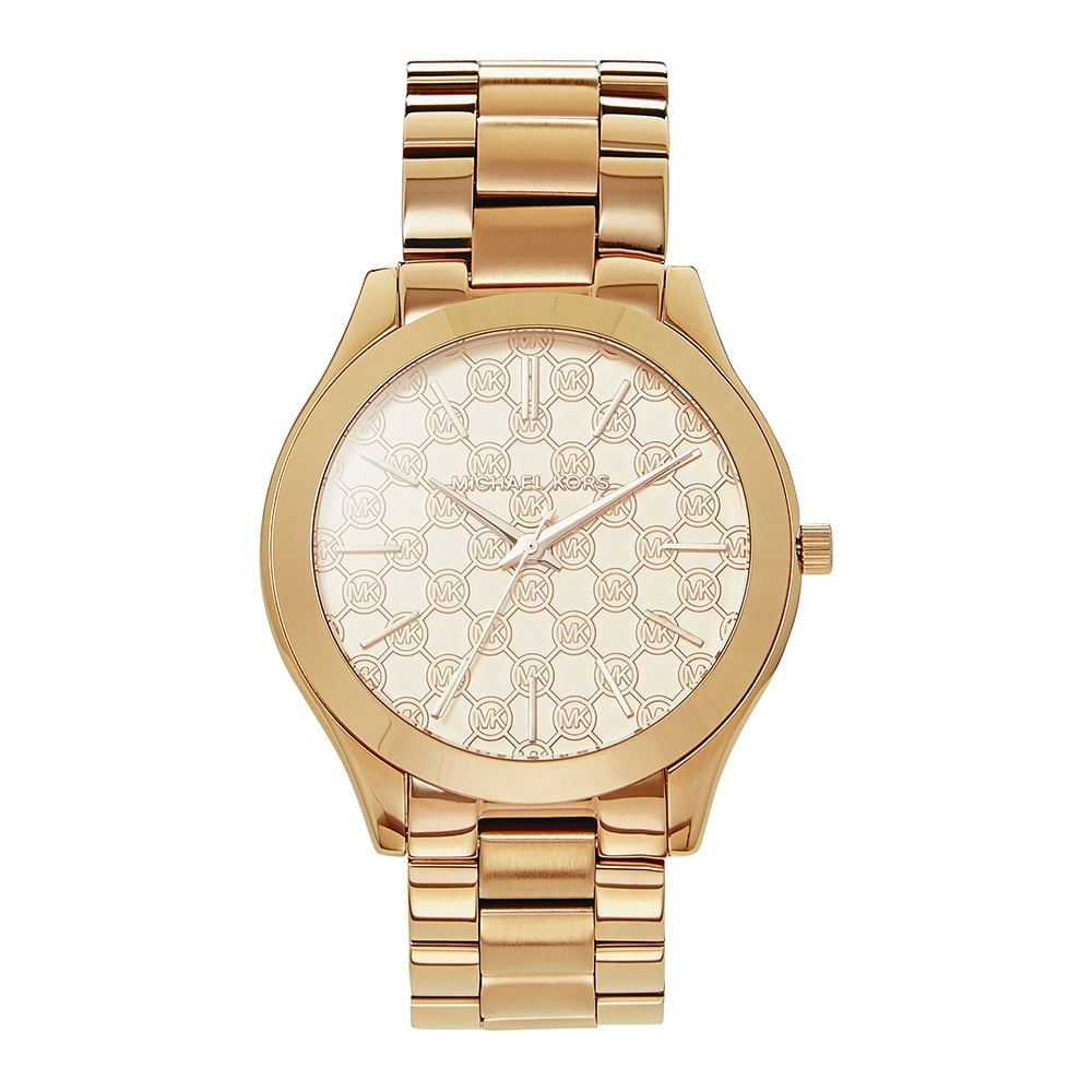 91a8604a8a16c MK3336 Michael Kors Slim Runway Rose Gold Ladies Watch available at ...