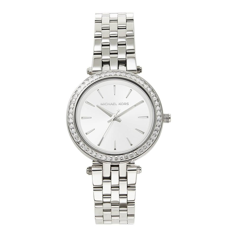 7aa5ae8ad7ab Michael Kors MK3364 Mini Darci Silver Tone Ladies Watch on sale at ...
