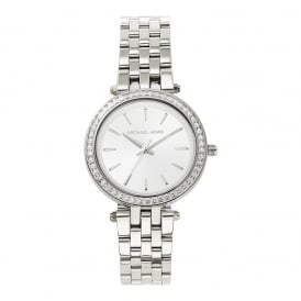 dd176e650f5e MK3364 Mini Darci Silver Tone Stainless Steel Ladies Watch In Stock. Michael  Kors Watches ...