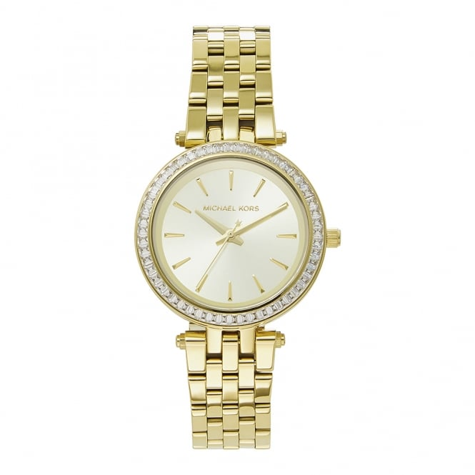 74f8d00456dc8 Michael Kors MK3365 Mini Darci Gold Tone Ladies Watch on sale at Tic ...