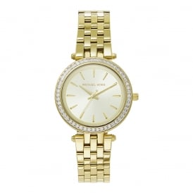 6d4641fcf62 MK3365 Mini Darci Gold Tone Stainless Steel Ladies Watch In Stock. Michael  Kors Watches ...