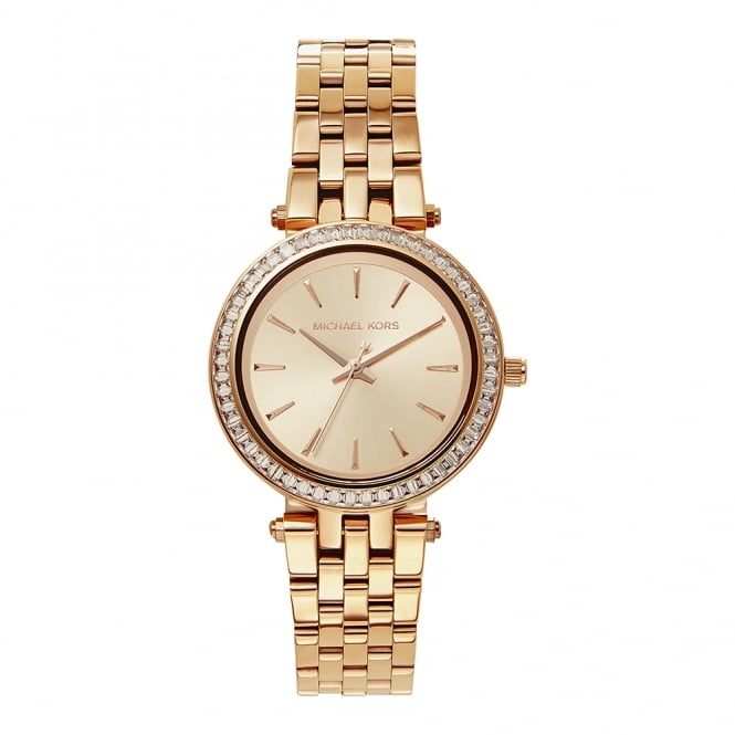 cb64a7157d58 Michael Kors MK3366 Darci Rose Gold Stainless Steel Ladies Watch ...