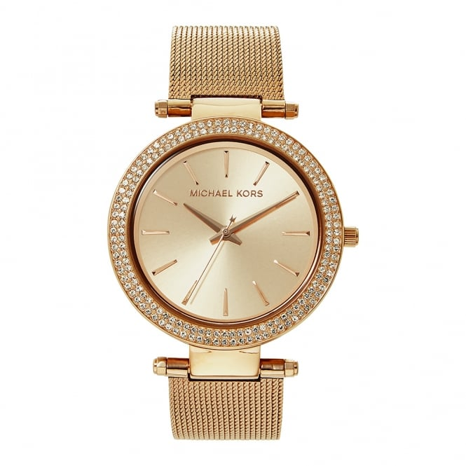Michael Kors Watches MK3369 Darci Rose Gold Mesh Ladies Watch