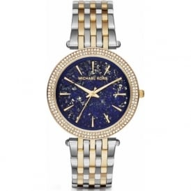 Michael Kors Watches MK3401 Darci Blue & Two Tone Stainless Steel Ladies Watch