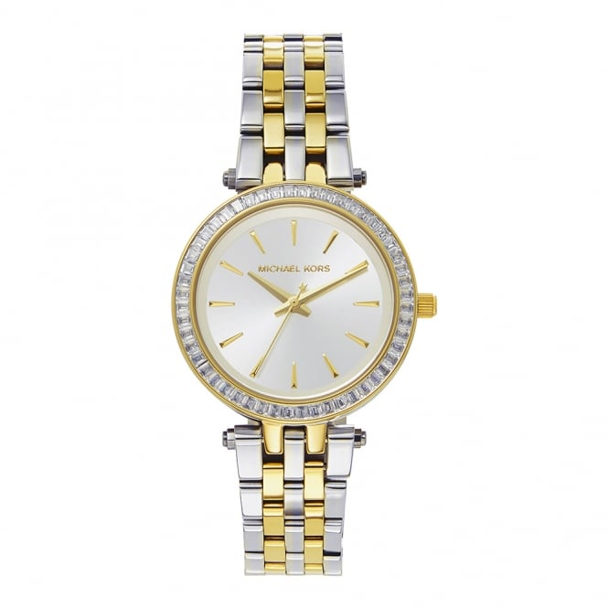 Michael Kors Watches MK3405 Mini Darci Two Tone Stainless Steel Ladies Watch
