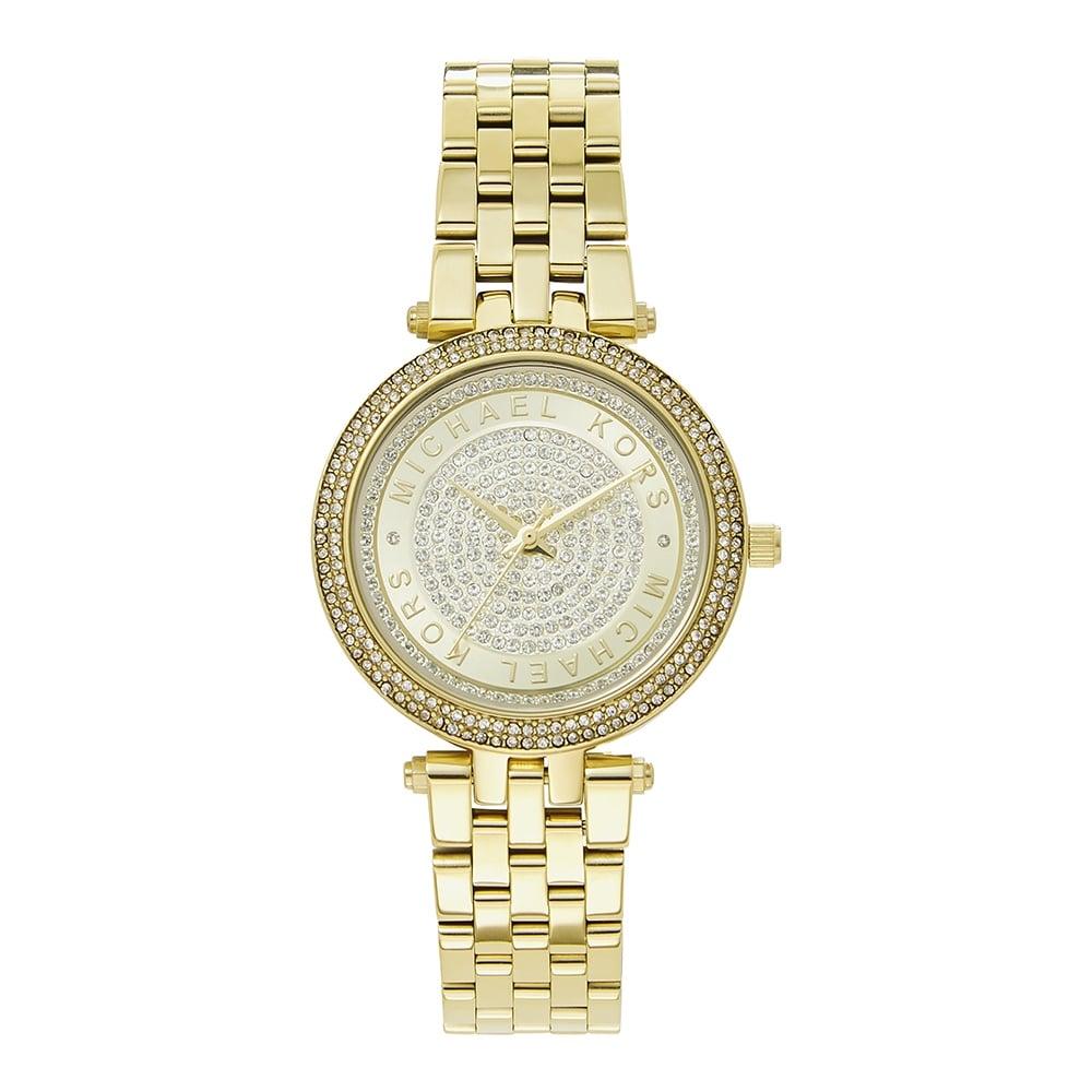 7d96dba8be82 Michael Kors MK3445 Mini Darci Gold Stainless Steel Ladies Watch ...