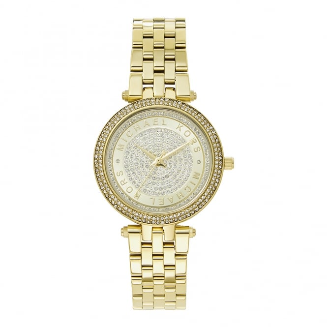 Michael Kors Watches MK3445 Mini Darci Gold Stainless Steel Ladies Watch