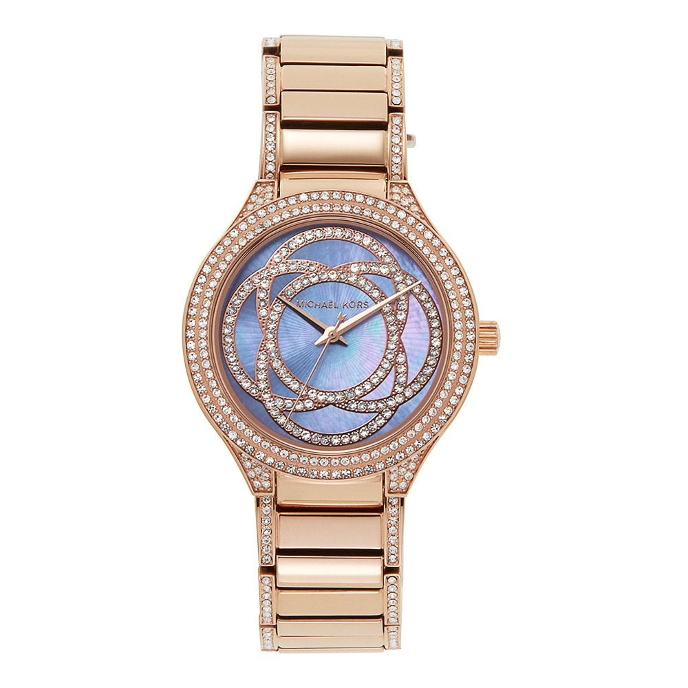 Michael Kors Mk3482 Kerry Rose Gold Ladies Watch Available At Tic