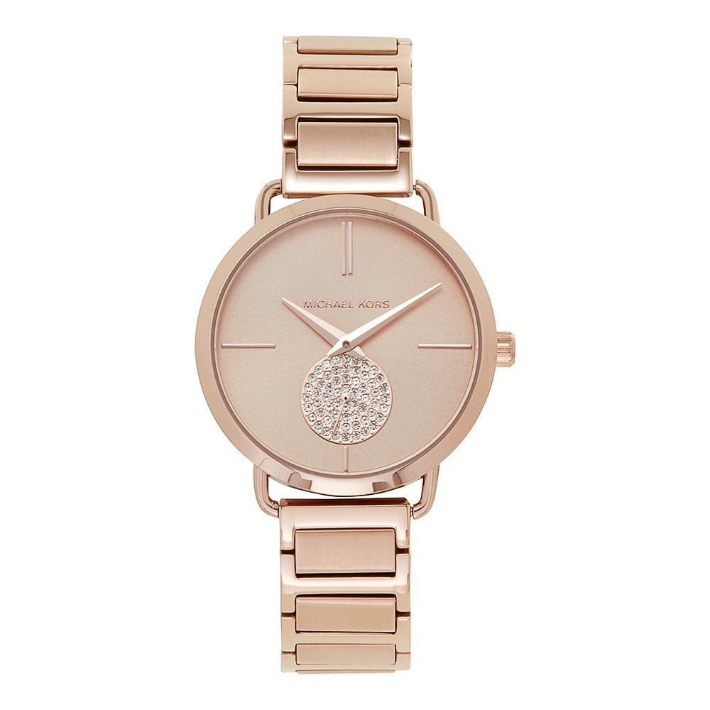 fb44650a647c Michael Kors MK3640 Portia Stainless Steel Ladies Watch available at ...