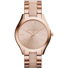 Michael Kors Watches MK4294 Slim Runway Rose Gold Tone Stainless Steel Ladies Watch