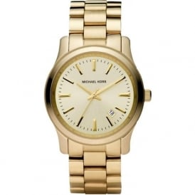 Michael Kors Watches MK5160 Runway Gold Stainless Steel Ladies Watch