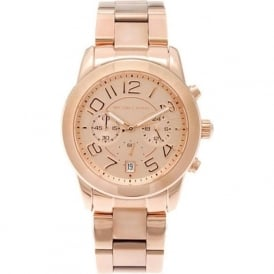 Michael Kors Watches MK5727 Mercer Rose Gold Chronograph Ladies Watch