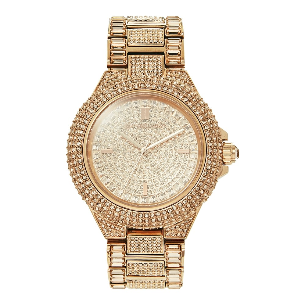 5bca7b31c7ef Michael Kors MK5862 Glitz Camille Rose Gold Ladies Watch available ...
