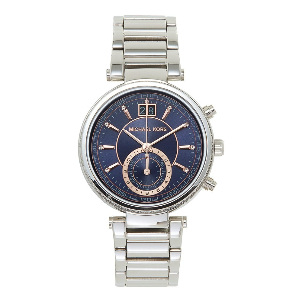 ccd487440b6f Michael Kors MK6224 Sawyer Stainless Steel Ladies Watch available at ...
