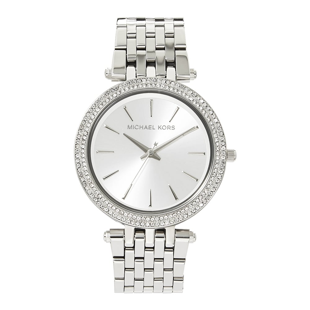 e45728c0edff MK3190 Darci Silver Ladies Stainless Watch