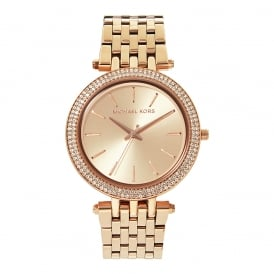 MK3192 Ladies Rose Gold-Tone Stainless Watch
