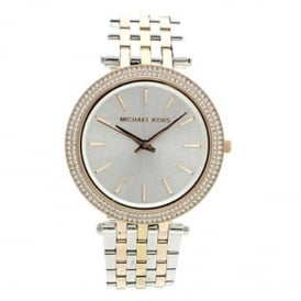 MK3203 Darci Three Tone Stainless Steel Ladies Watch