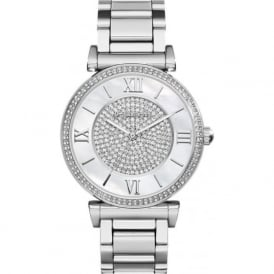 Michael Kors Watches MK3331 Michael Kors Caitlin Silver Stainless Steel Ladies Watch