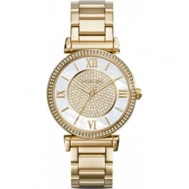 Michael Kors Watches MK3332 Caitlin Gold Tone Stainless Steel Ladies Watch