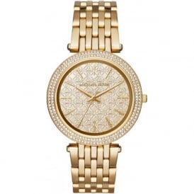 MK3398 Darci Gold Tone Stainless Steel Ladies Watch