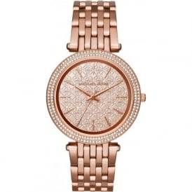 MK3399 Darci Rose Gold Tone Stainless Steel Ladies Watch