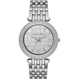 Michael Kors Watches MK3404 Darci Silver Stainless Steel Ladies Watch