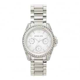 MK5612 Silver Stainless Steel Chronograph Ladies Watch