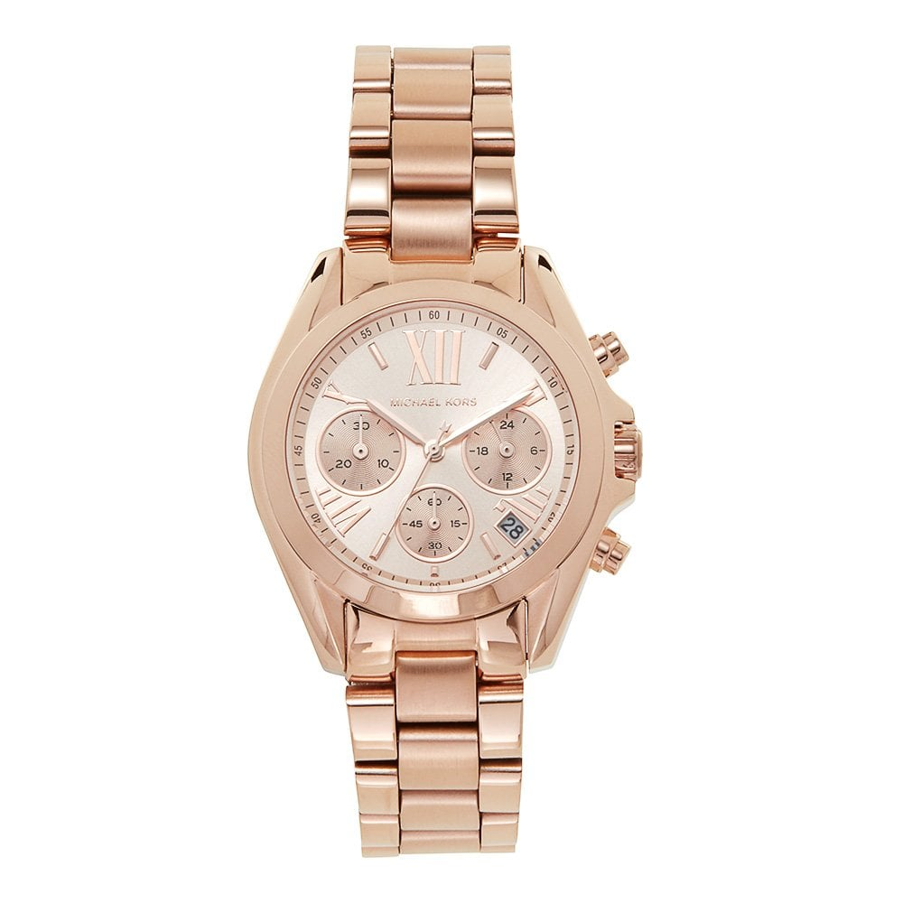0b670f87f555 MK5799 Michael Kors Bradshaw Mini Rose Gold Tone Ladies Watch ...