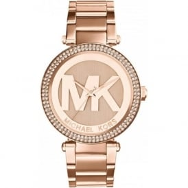 Michael Kors Watches MK5865 Parker Rose Gold Tone Stainless Steel Ladies Watch