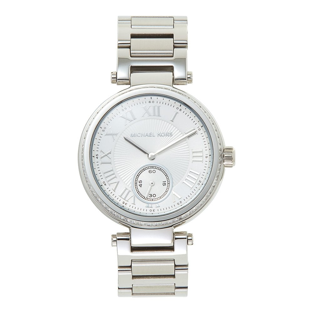 9abe28a6f7f Michael Kors Watches Michael Kors Watches MK5866 Skylar Silver Stainless  Steel Ladies Watch