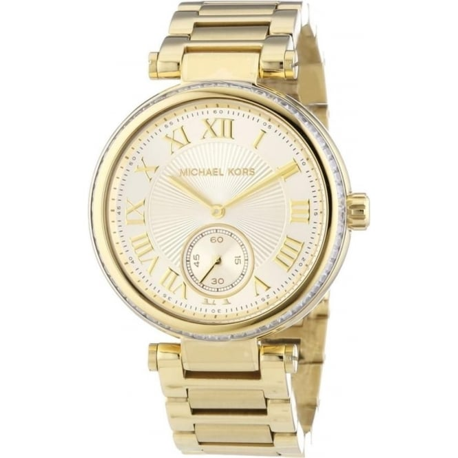 Michael Kors Watches MK5867 Gold Skylar Ladies Watch