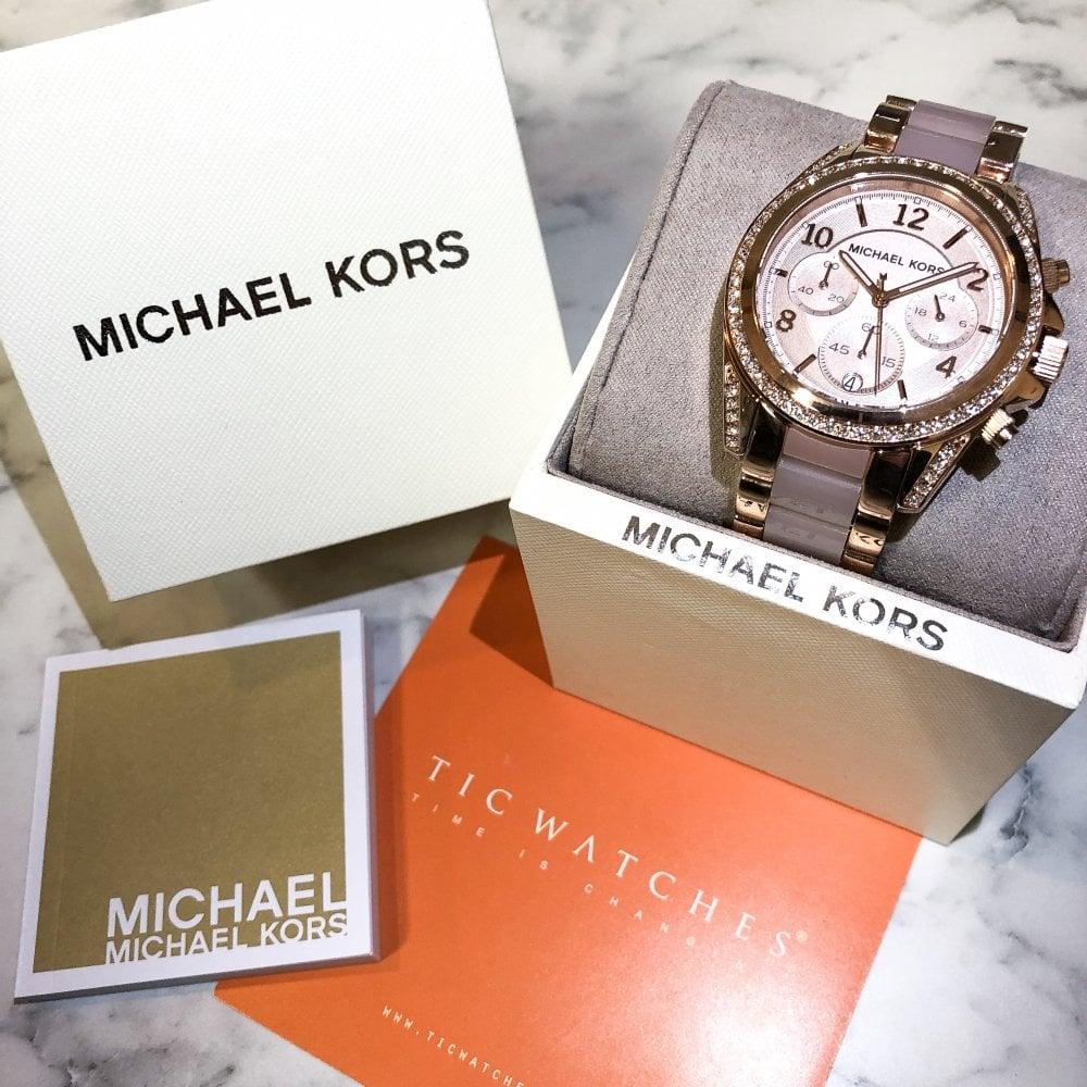 1b01a40bbec1 MK5943 Michael Kors MK5943 Blair Rose Gold Ladies Watch for sale at ...