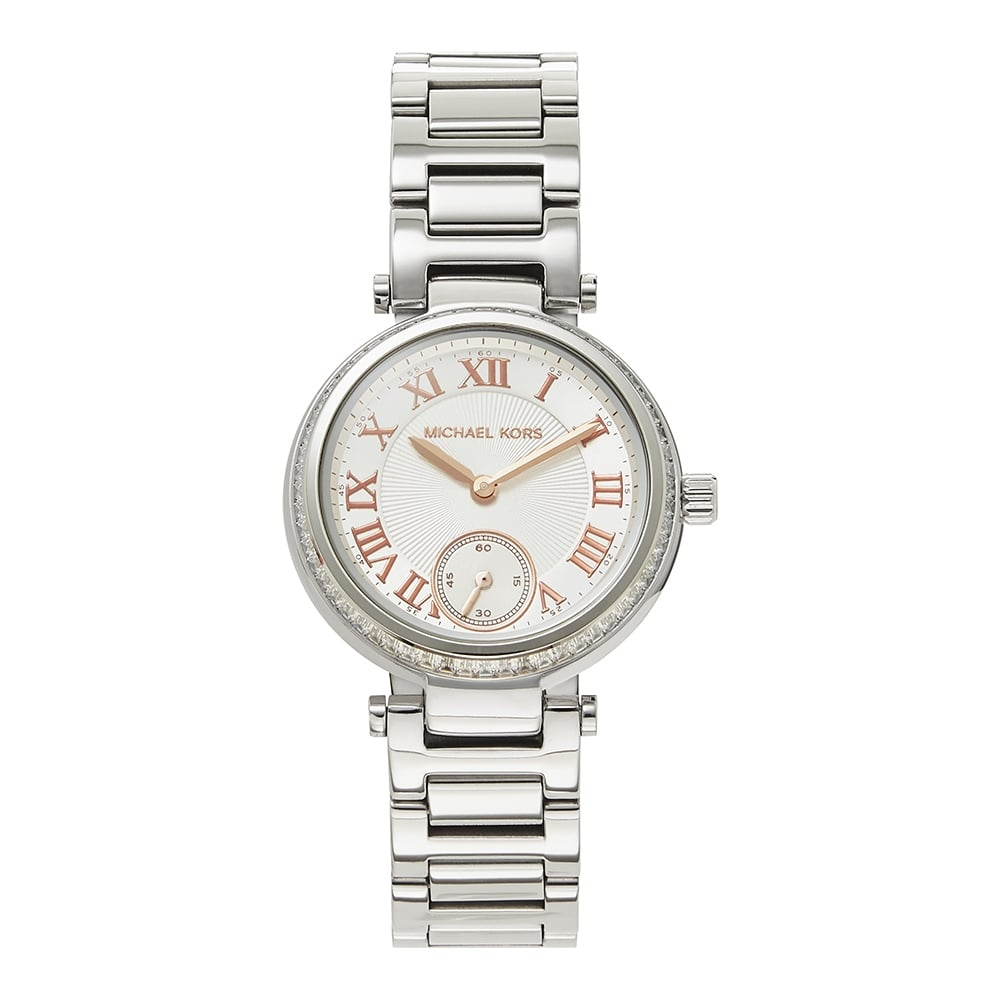 24ca06c9c0f Michael Kors Watches Michael Kors Watches MK5970 Skylar Silver Stainless  Steel Ladies Watch