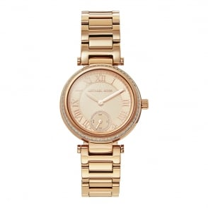 Michael Kors Watches MK5971 Skylar Rose Gold Tone Stainless Steel Ladies Watch