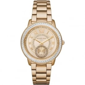 Michael Kors Watches MK6287 Madelyn Gold Tone Stainless Steel Ladies Watch