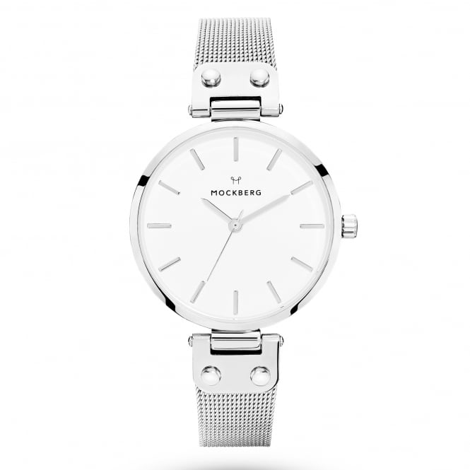 Mockberg MO1602 Elise Silver Mesh Ladies Watch