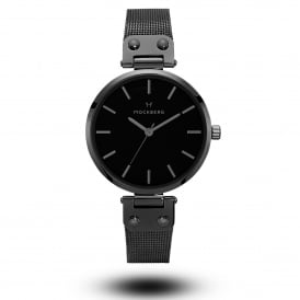 MO305 Lio Black Mesh Ladies Watch